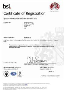 Certificazione qualità Vegambiente Verona